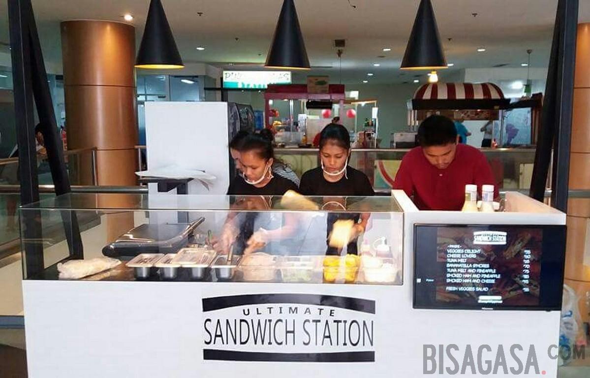 sandwitch station